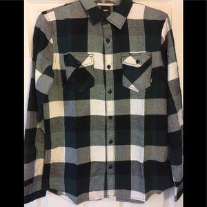 Vans men's Box Flannel shirt NWT